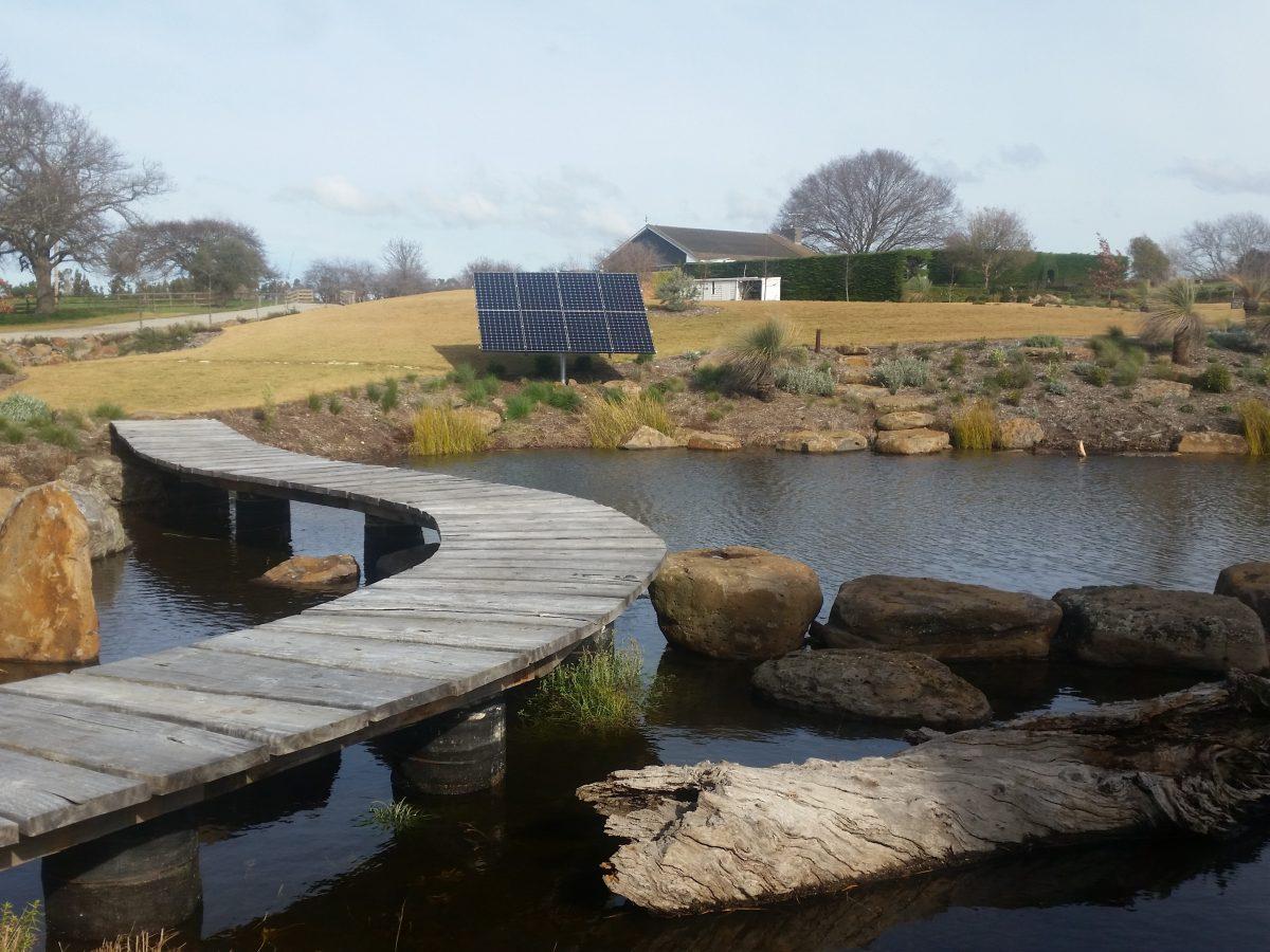 Solar Dam Aeration