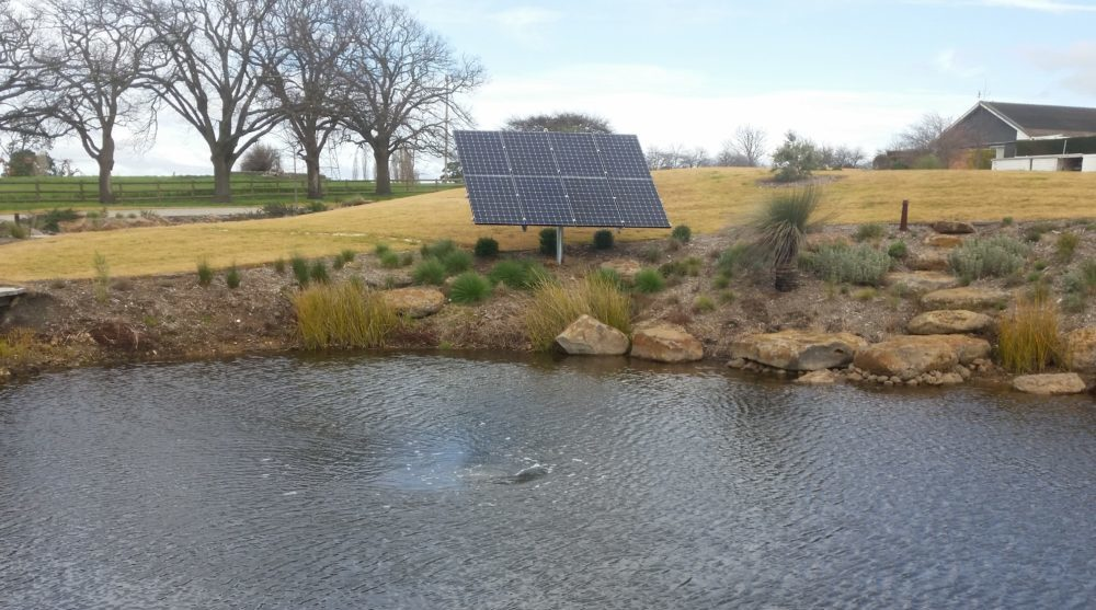 Solar Dam Aeration by Water Quality Solutions
