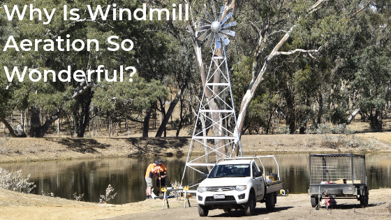 Benefits Of Installing A Windmill Aerator - Sustainable Dam Aeration