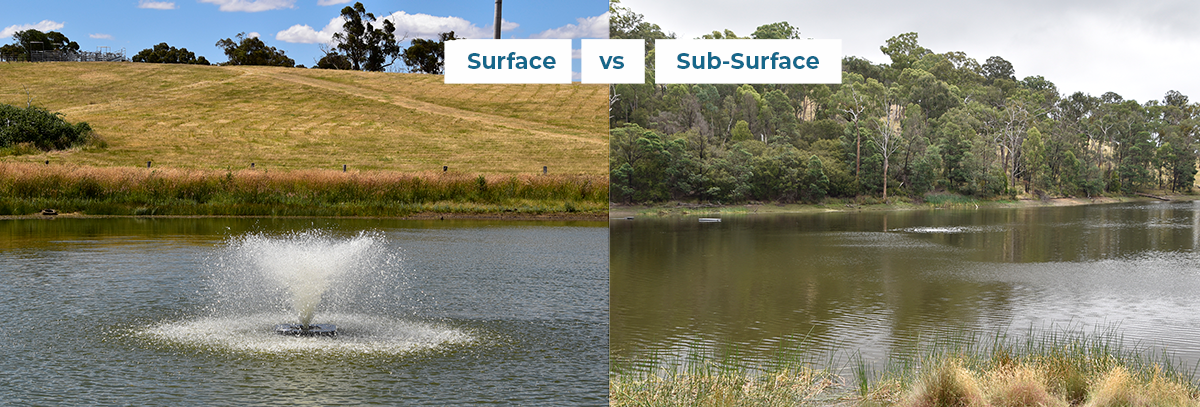 Surface vs Sub-surface banner